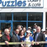 Ribbon cutting for our grand opening celebration!