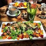 Babette's Salad at brunch