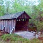 Pisgah Covered Bridge a few miles from campground