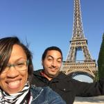 Eiffel Tower 2015 with David my Tour Guide
