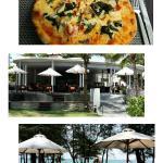 Thai Pizza @ Pesto's