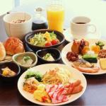 朝食 ※盛り付け例