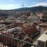 Views towards the rooftops and Tibidabo