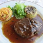 filet de boeuf  sauce Périgourdine