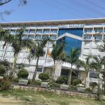 Hotel viewed from the main road, Ocean Paradise Hotel, Cox's Bazar