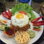 Delicious traditional Balinese breakfast