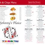Fish & Chips Menu