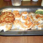 Broiled Sea Food Platter