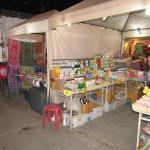 Ночной рынок, палатки