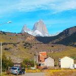 Vista cerquita de Los Ñires