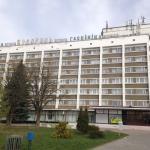 Hotel Belarus Grodno, front.