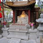 Buddha greets visitors to the Temple