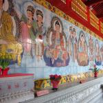 The Seven Buddha Mural