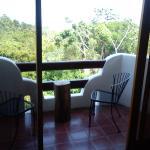balcón visto desde la habitación