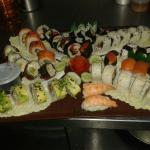 Nuevos sushis deliciosos  sabor auténtico japonés