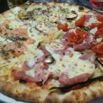 La pizza spéciale du chef :) Grazzie mille !