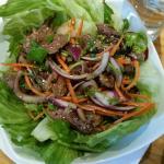 Salade de boeuf thai... Un régal !