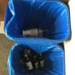 Someone else's beer bottles, caps in bedrooms