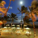 Enjoy a moonlit dinner, with a balmy ocean breeze, with your toes in the sand