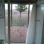 View from shower