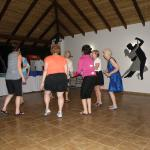 the ranchero is great for group dancing