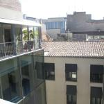 View of inner courtyard from roof top