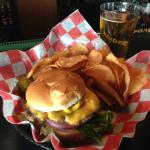 Monk's cheeseburger. Not the same as the Dells but still very good.