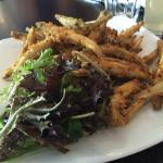 Whitebait. Highly recommended.