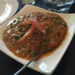 Mushroom and pea Marsala
