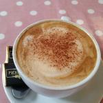 Coffee with soya milk