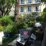 moment calme dans le jardin