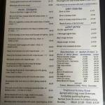 The Stratton Arms Menu (April 2015)