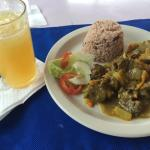 Curry Goat and Liquor in my cup!!! ������