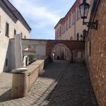Street to restaurant
