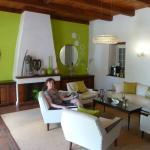 Lounge (Hier wurde das Frühstücks Buffet aufgebaut)