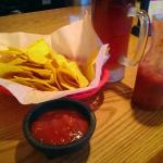 Free chips and salsa