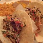 Fish Tacos made with red snapper