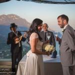 blessing in Ravello photographer Enrico Capuano wedding planner Mario Capuano