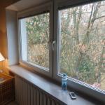 window near the bed