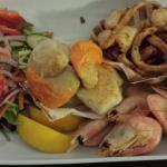 Super fresh seafood starter