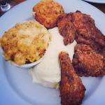 Chicken, mash, and Mac