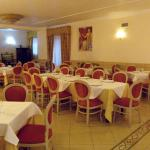 Hotel restaurant.