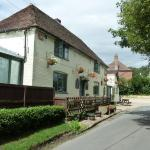Traditional English pub in Woolage Green, Kent
