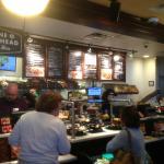 Corner Bakery Cafe - serving line