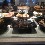 Corner Bakery Cafe - bakery counter display