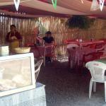 El Pato dining area