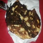 burnt garlic naan bread