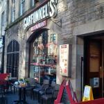 Exterior of Garfunkels