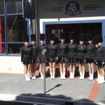 Marching girls team