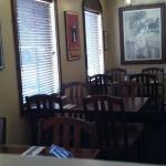 Window seating by the door